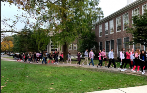 Haddonfield Walks to Support Breast Cancer Awareness
