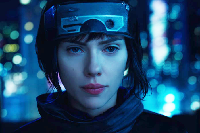 Scarlett Johansson in her controversial role from Ghost in the Shell
