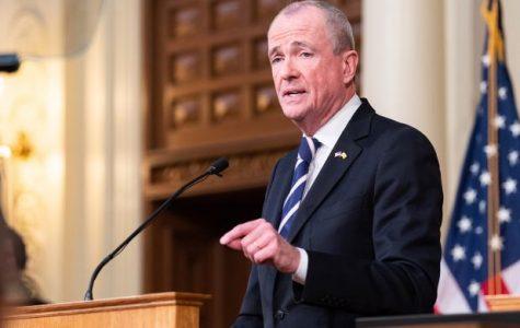 NJ Gov. Phil Murphy addresses the state during the Coronavirus epidemic.