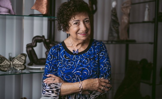 Artist and Holocaust Educator Gabriella Karin