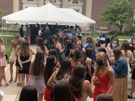 Dancing in the Rain: Despite the Drops, the Freshmen Danced On