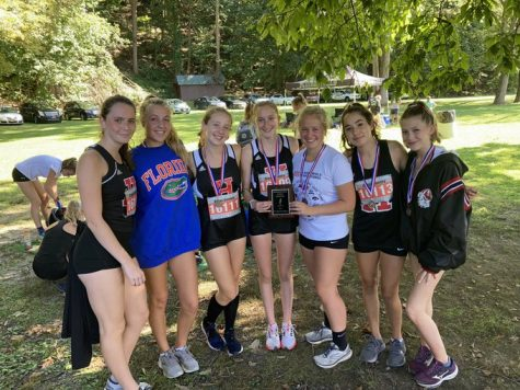 JV Cross Country Womens Team Win 2nd Pace at Bowdoin on September 25, 2021